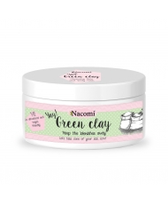 Nacomi green clay - cleansing mask for the face and body 77g
