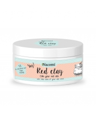 Nacomi red clay - redness reducing face mask 74 g