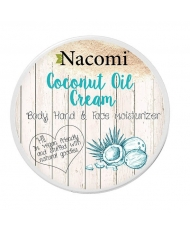 Nacomi coconut oil cream - body, hand & face cream