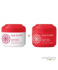 Ziaja rose butter – face creams 30+ 1+1 free
