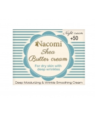 Nacomi – Shea butter night cream 50+ 50ml