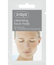 Ziaja Mask – Cleansing face mask with grey clay 7ml