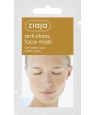 Ziaja Mask – Máscara facial Anti-stress com argila amarela 7ml