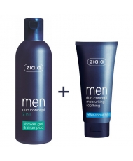 Ziaja men promotional set - for face and body