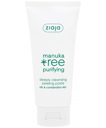 ZIAJA MANUKA TREE  DEEPLY CLEANSING PEELING - PASTE